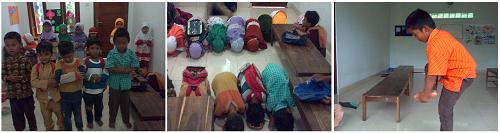 Ujian Santri TPA Pesantren Darush Sholihin Semester Pertama 1433/ 1434 H