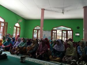 Jama'ah Aisyiyah Panggang dari Berbagai Dusun atau Ranting