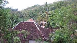 Keadaan rumah di Dusun Melian, Rongkop, Gunungkidul