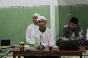 Sambutan dari Takmir Masjid Jami Al Adha, Bapak Muhammad Sariman