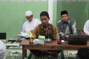 Sambutan dari Perwakilan MUI Kecamatan Panggang, Gunungkidul, Ustadz Hasan