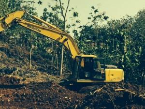 Sedang dilakukan penggalian