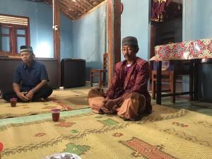 Kunjungan ke Kepala Desa Terpilih Giriwungu, Bapak Tulus.