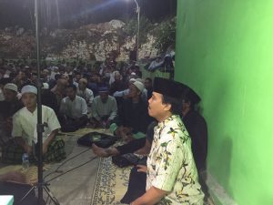 Bapak Camat Purwosari turut hadir rutin dalam pengajian malam Kamis.